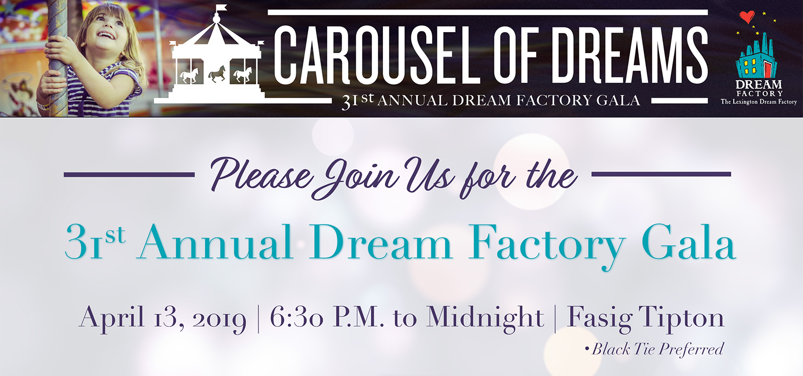 Lexington Dream Factory Gala