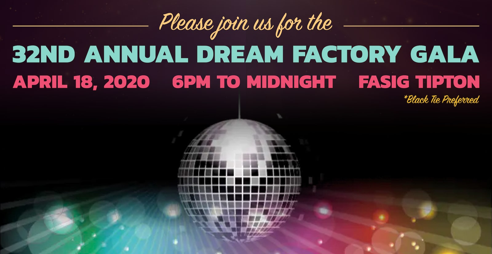32nd Annual Lexington Dream Factory Gala